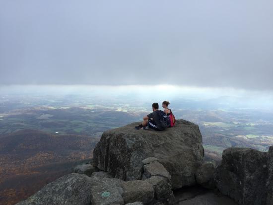 Bedford, VA: Top of Sharp Top Mountain