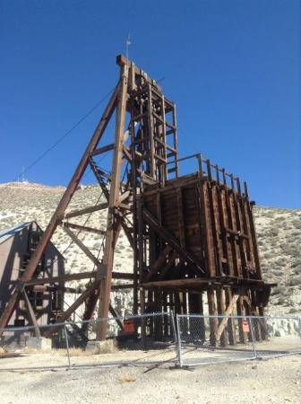 Tonopah, Νεβάδα: Mine shaft Headframe