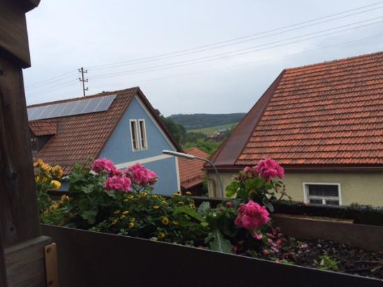 Pension Regina: View from Balcony