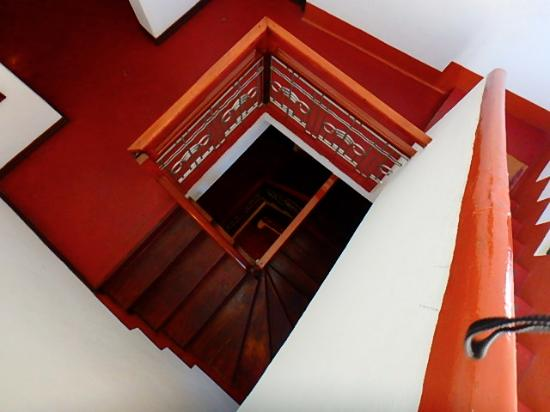 Warere Town House : stairway