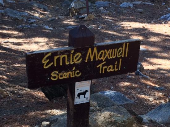 Idyllwild, CA: Entrance to the Ernie Maxwell Trail
