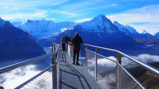 Grindelwald, Switzerland: The Cliff Walk