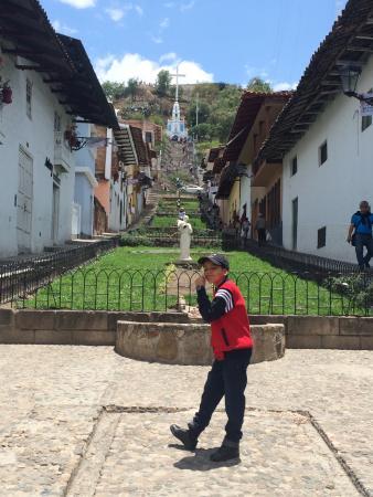 Cerro Santa Apolonia: Escaleras para llegar al Mirador de Santa Apolonia