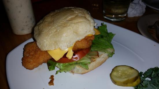 Johnson Creek, WI: Fish Sandwich