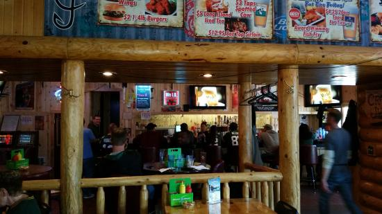 Johnson Creek, WI: Bar Area