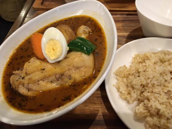 Soup Carry Kokoro Shimokitazawa ten: 骨付きチキンのスープカレー