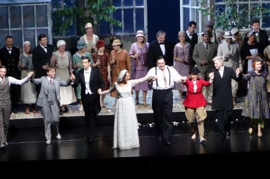 Großes Festspielhaus: フィガロの結婚カ-テンコール