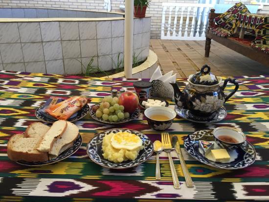 B&B Timur The Great: a nice breakfast