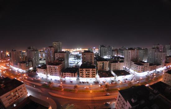 Al Bustan Tower Hotel Suites : Вид из номера