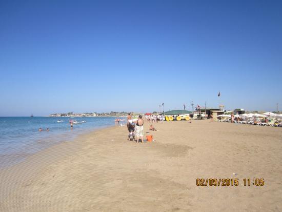Yesil Oz Apartotel: Пляж