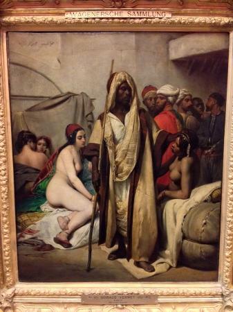 Alte Nationalgalerie: Horace Vermet. Slave market