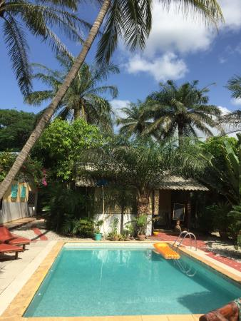piscine du Mansa Lodge