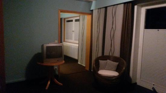 Sicht Vom Bett Aus Picture Of Wellness Hotel Park Hill Lossburg