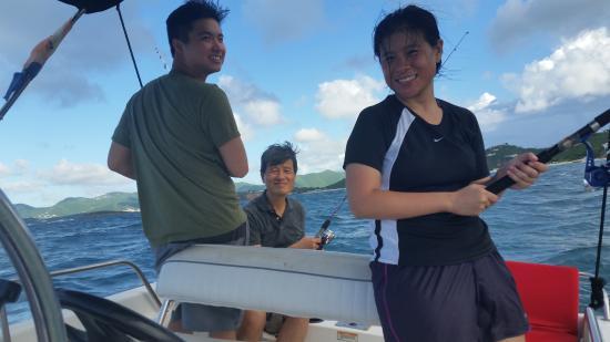 Κόλπος Simpson (Λιμνοθάλασσα), Άγιος Μαρτίνος: Great day out at sea fishing
