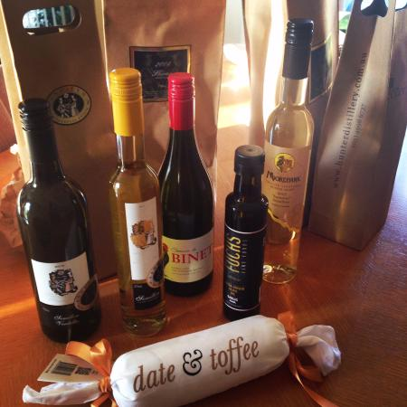 Crowne Plaza Hunter Valley: Loot from a great day of wine tasting