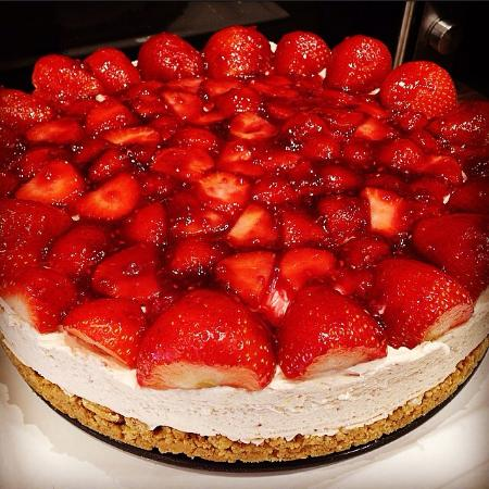 Dromore, UK: Strawberry Cheesecake