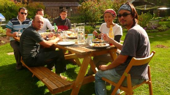 Boat of Garten, UK : Delicious food - makes all the hiking worthwhile