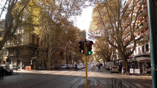 Nina Casetta De Trastevere: улица, на которой расположен отель