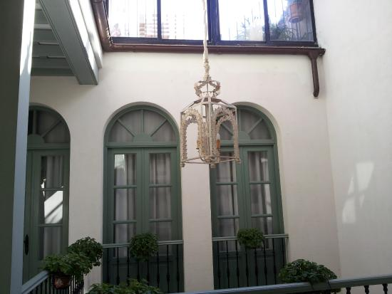 La Fonda Barranco: Le patio