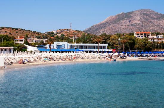 Lagonisi, Greece: Grand Beach