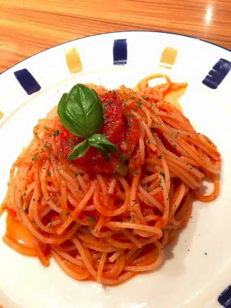 Miami Garden: Vegetarian pasta