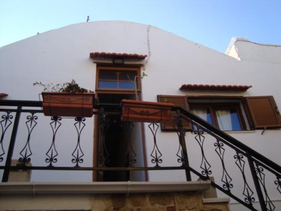 Cava d'Oro Hotel: Escada para subida ao 1o andar