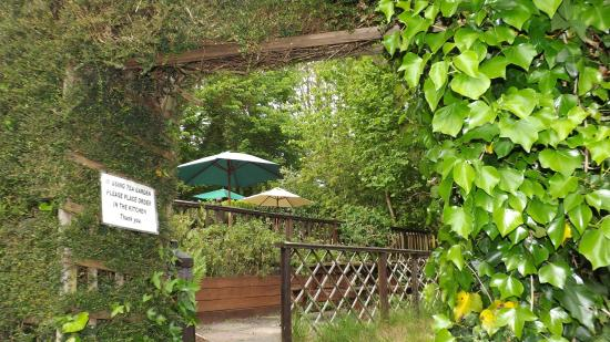 Wilmington, UK: Tea Garden entrance