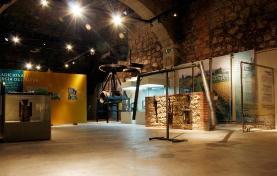 Museo de la Técnica de Manresa: La exposición de la Sèquia