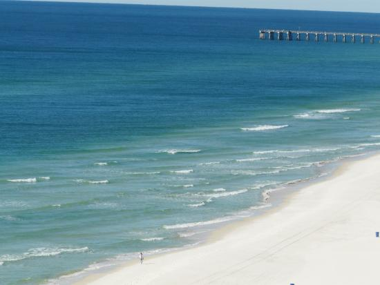 Twin Palms: View of the Gulf from our condo unit