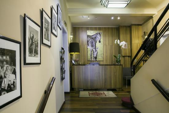 Best Western Hotel Graslin : reception