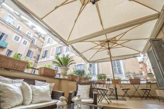 Suite Little Queen: terrazza