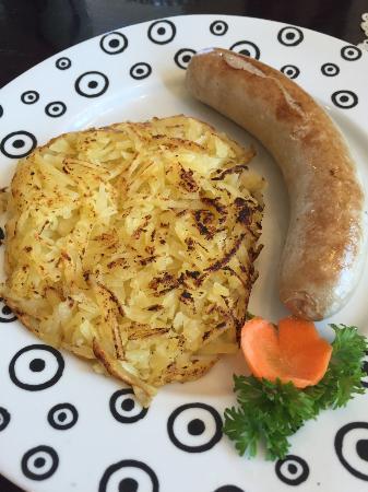 Pepito Cafe Tuban: Jumbo sausage