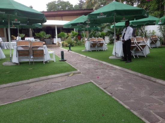 le jardin picture of le jardin des saveurs brazzaville