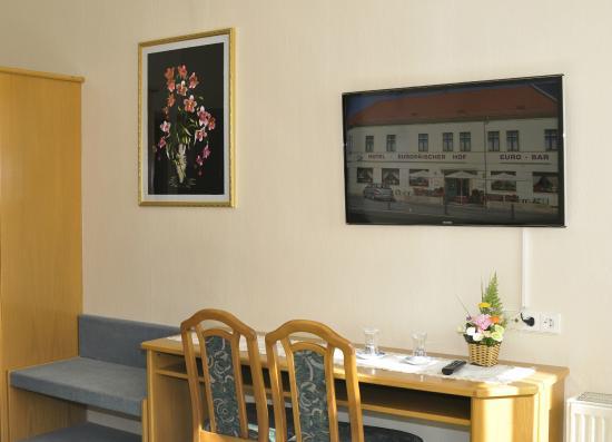 Elsterwerda, Tyskland: Hotelzimmer