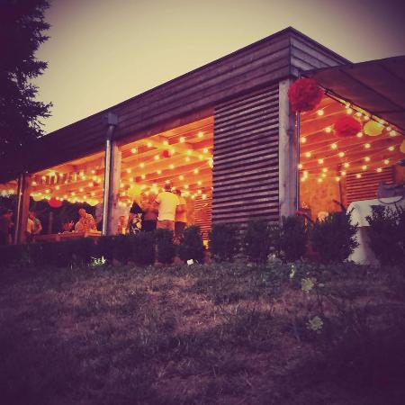 La Clauzure: La terrasse