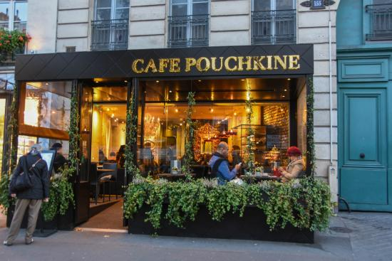 picture of cafe pouchkine paris tripadvisor. Black Bedroom Furniture Sets. Home Design Ideas