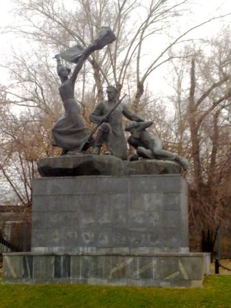 Monument to Heroes-Combatants: Памятник