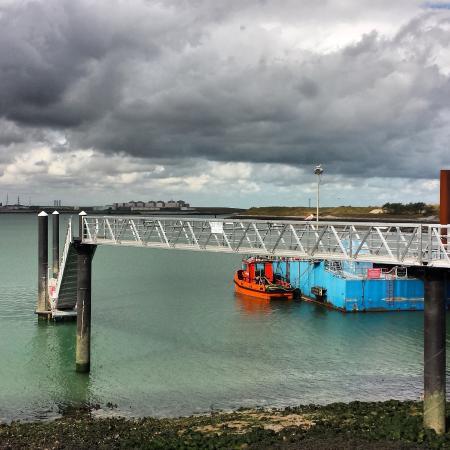 Norfolkline Dunkerque : Port