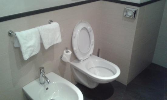 Hotel Re di Roma: toilet