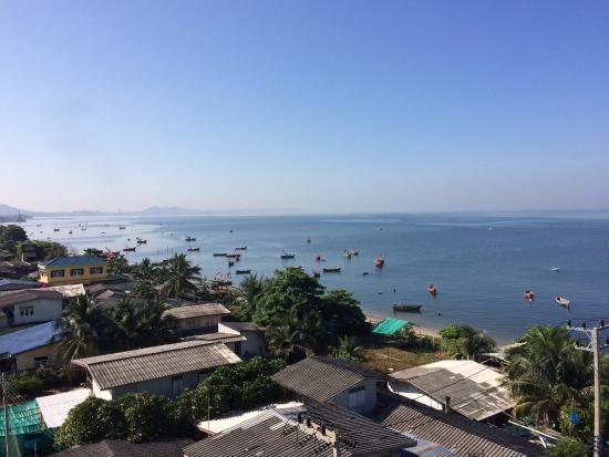 Bangsaen, تايلاند: Room View left