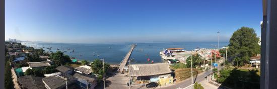 Bangsaen, Thailand: Room view