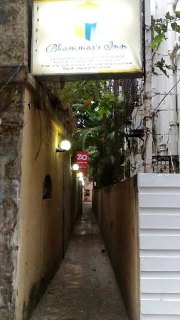 Bhammar's Inn: Alley