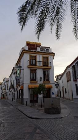 Hostal Almanzor: Pohled na hotel
