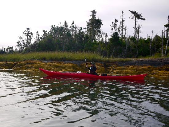 Pleasant paddling.