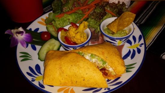 Tres Amigos Mexican Bar & Restaurant: Wrap de Pollo - für den minim kleineren Hunger