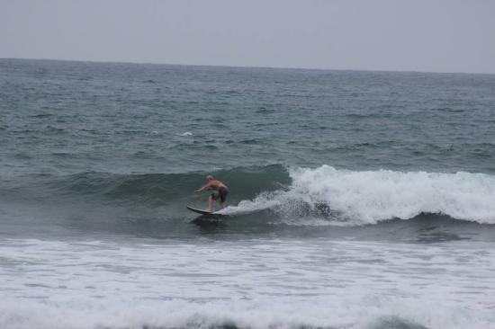 Hotel Baja Montanita: surf