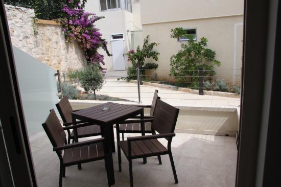 Hotel Korsal: Terrace