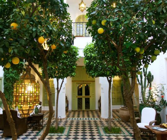 Riad Camilia: Courtyard