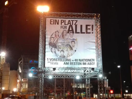 Badisches Staatstheater Karlsruhe: Ein Platz für Alle!
