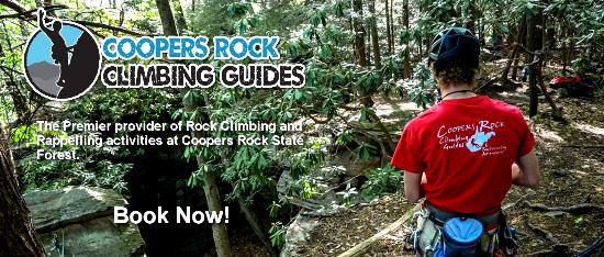 Coopers Rock Climbing Guides - Day Adventures: Coopers Rock Climbing Guides